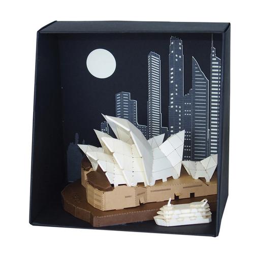 Sydney Operea House Paper Nano