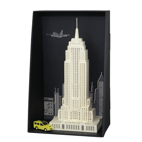 Empire State Building Paper Nano