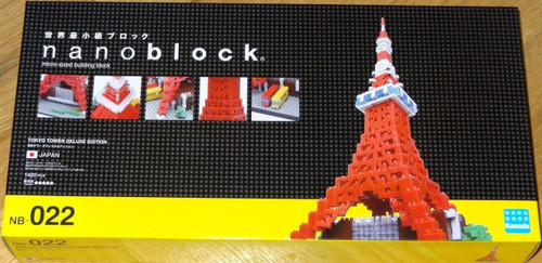 Tokyo Tower Deluxe Nanoblock