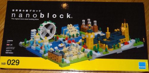 London Skyline Nanoblock