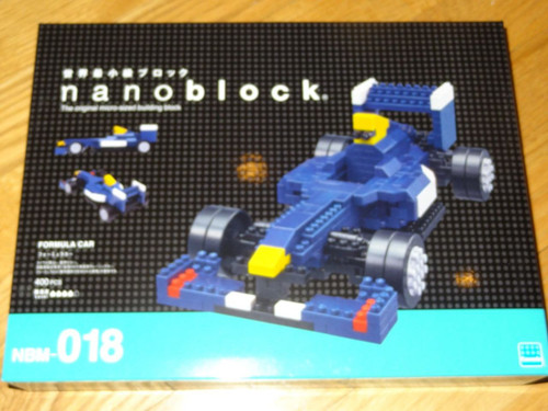 Formula Car Model Nanoblock