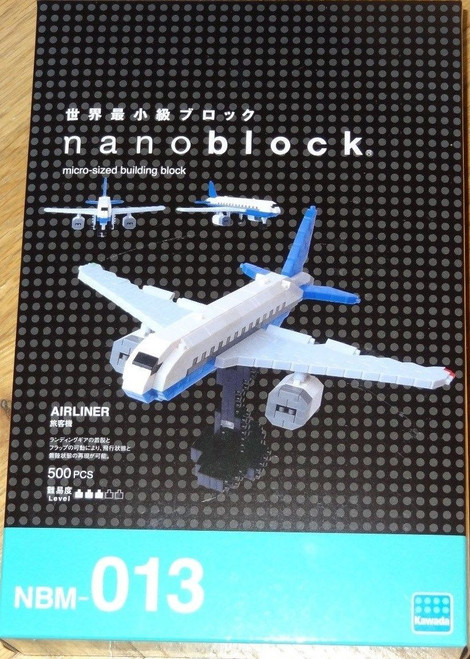 Airliner Nanoblock