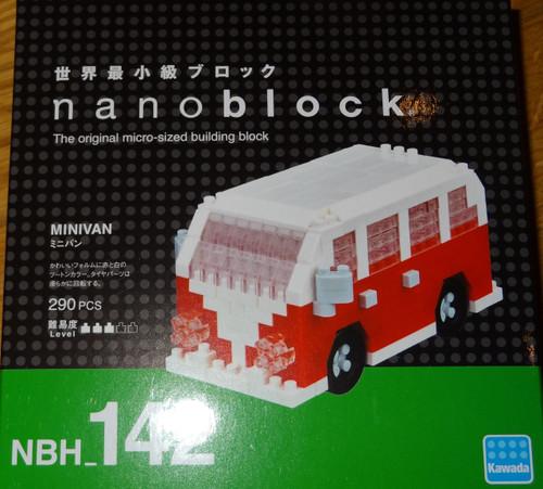 Minivan Nanoblock