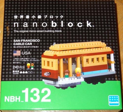 San Francisco Cable Car Nanoblock