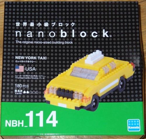 New York Taxi Nanoblock