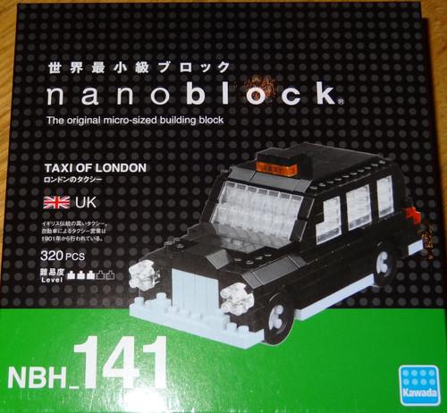 Taxi of London Nanoblock