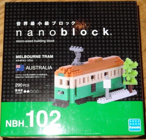 Melbourne Tram Nanoblock