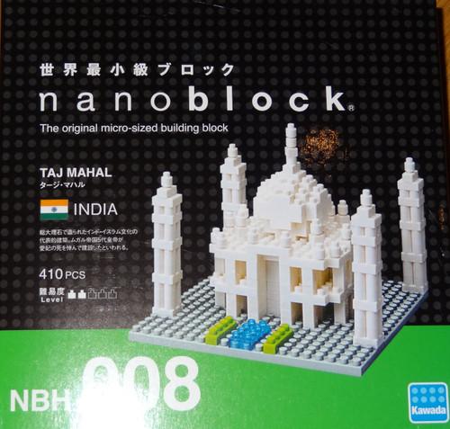 Taj Mahal Nanoblock