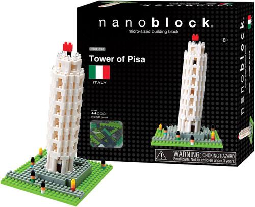 Tower of Pisa Nanoblock