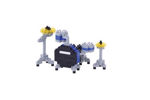 Drum Set (Blue) Nanoblock