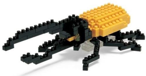 Hercules Beetle Nanoblock