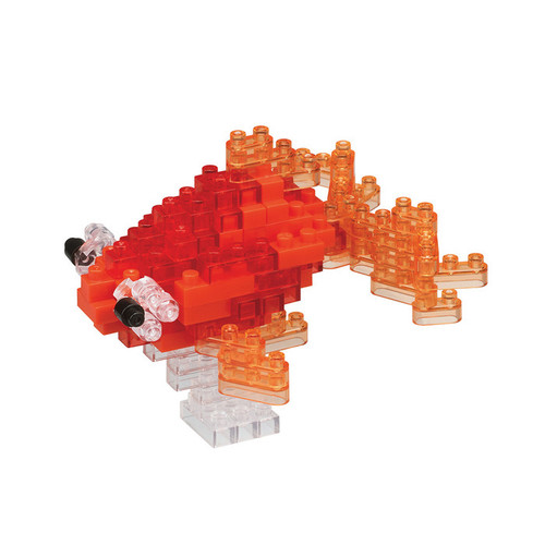 Popeyed Goldfish Red Nanoblock