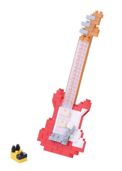 Electric Guitar Red Nanoblock