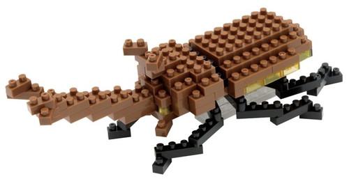 Rhinoceros Beetle Nanoblock