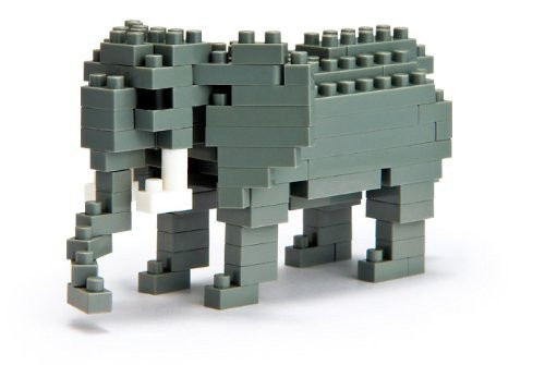 African Elephant Nanoblock