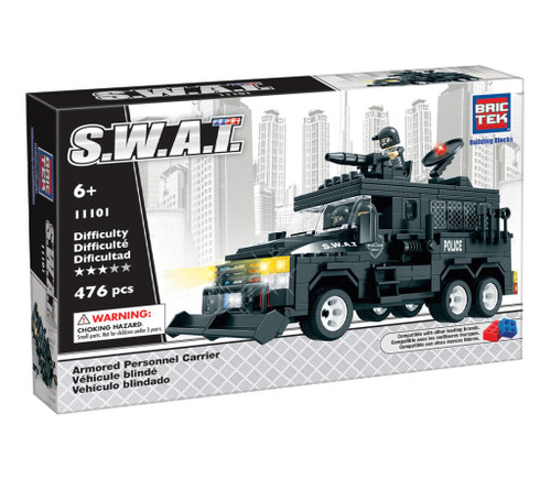 SWAT Armored Personnel Carrier BricTek