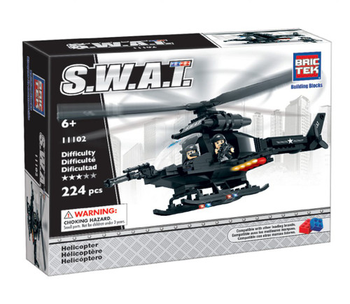 SWAT Helicopter BricTek