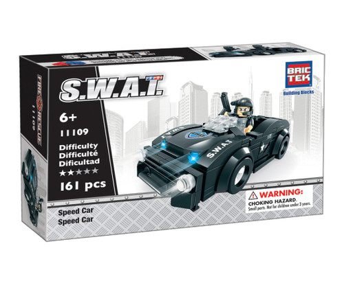 SWAT Speed Car BricTek