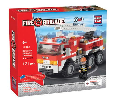 Fire Engine BricTek