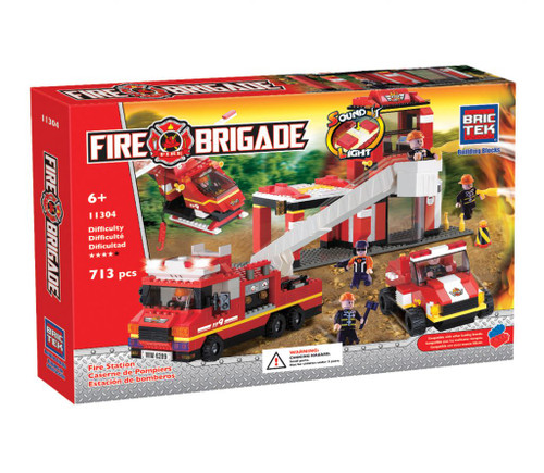 Fire Station BricTek