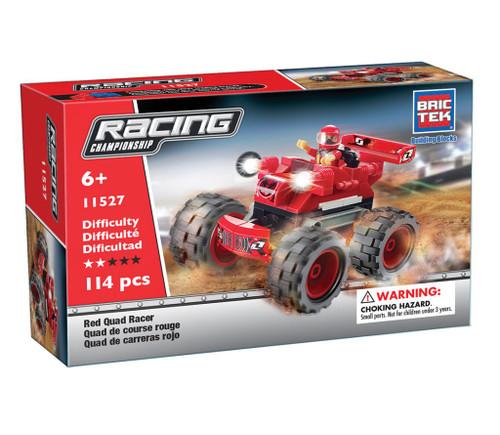 Red Quad Racer BricTek