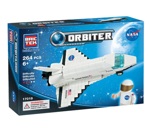 Atlantis Orbiter Shuttle BricTek