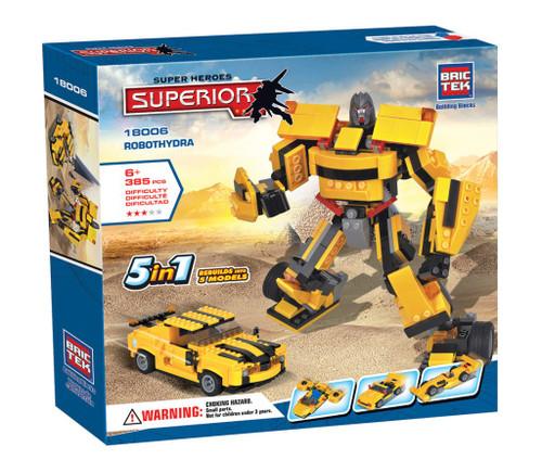 Robothydra Heroes BricTek