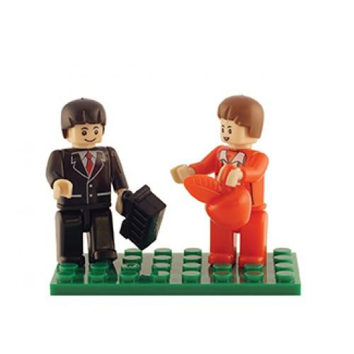 Urban Set of 2 Mini Figures BricTek