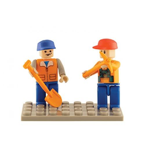 Farm Set of 2 Mini Figures BricTek