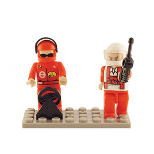 Racing Set of 2 Mini Figures BricTek
