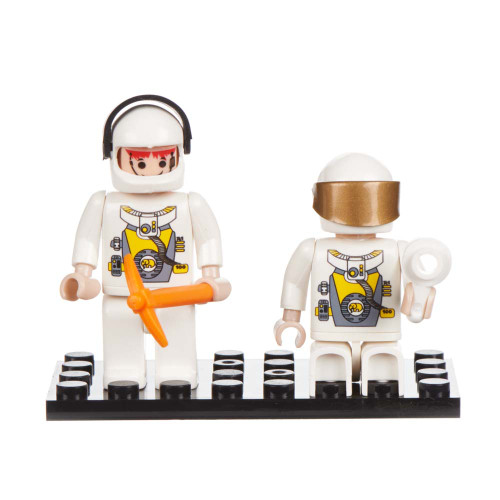 Space Set of 2 Mini Figures BricTek