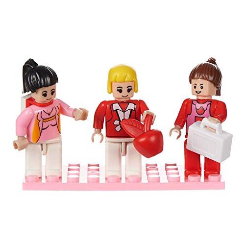 Imagine Set of 3 Mini Figures BricTek
