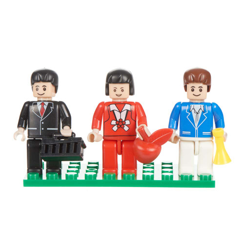 Urban Set of 3 Mini Figures BricTek