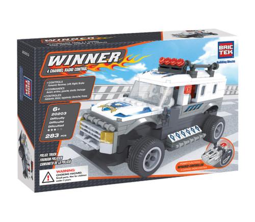Radio Control Police Truck BricTek
