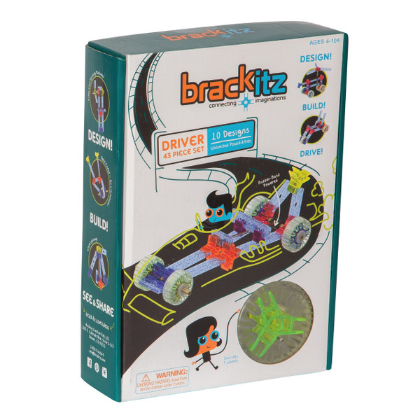 Driver 43 Piece Set Brackitz