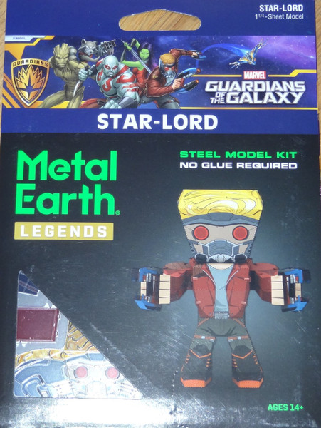 Star-Lord Metal Earth Legends