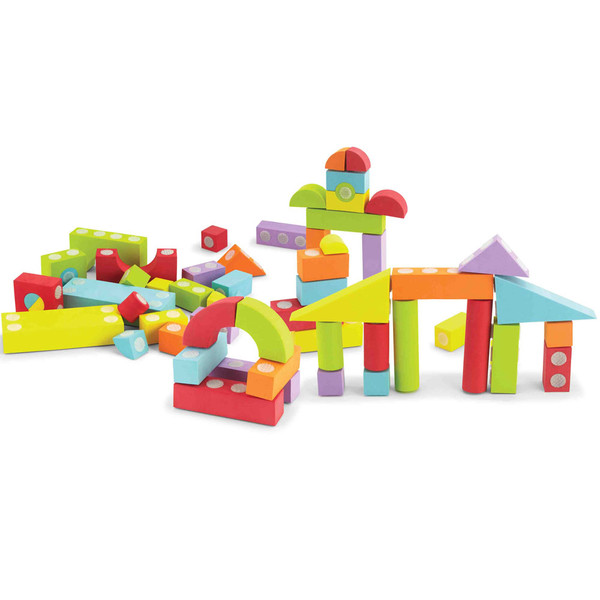 60 Piece Set Velcro Blocks