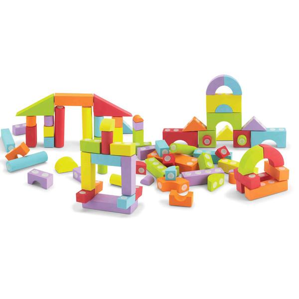 80 Piece Set Velcro Blocks