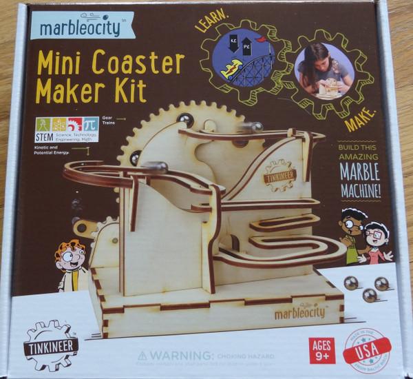 Mini Coaster Maker Kit Tinkineer Marbleocity