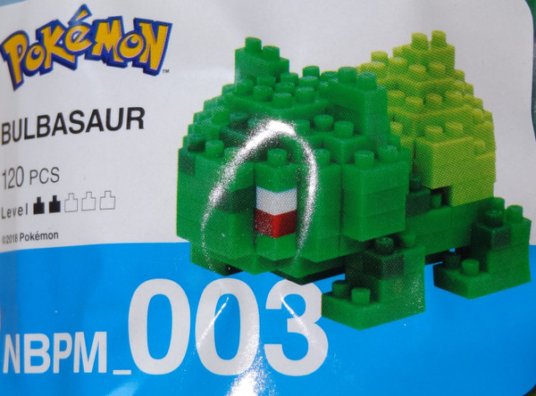 Bulbasaur Pokemon Nanoblock