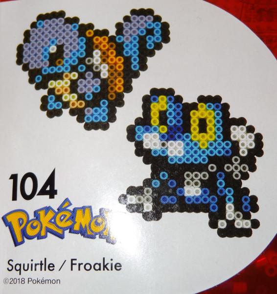 Squirtle/Froakie Pokemon NanoBeads