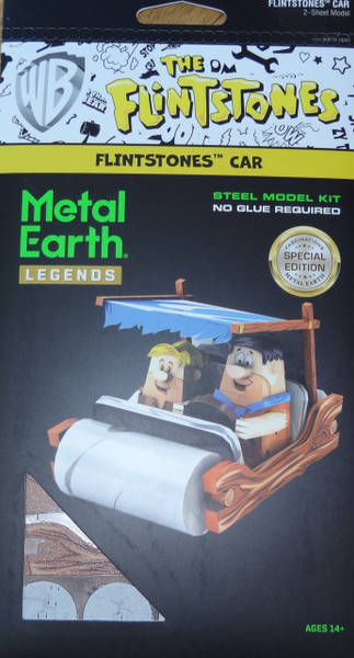 Flinstones Car Metal Earth