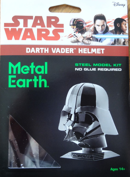 Darth Vader Helmet Star Wars Metal Earth