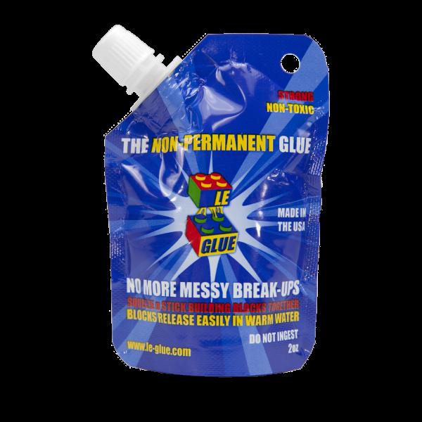 Le-Glue Non-Permanent Building Block Glue 2oz