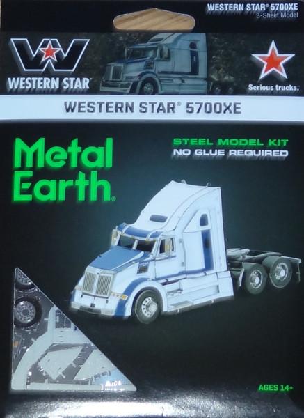 Western Star 5700XE Truck Metal Earth