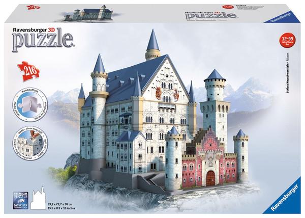 Neuschwanstein Castle 3D Puzzle