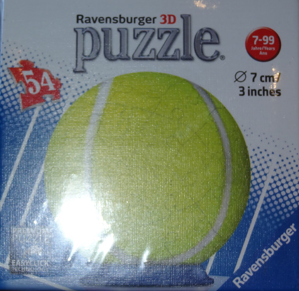 Tennis Ball 3D Puzzle
