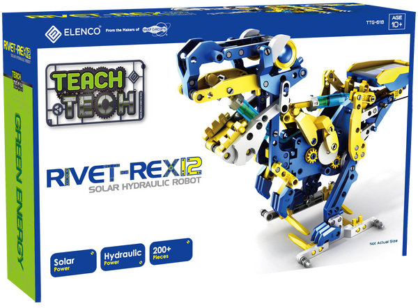 Rivet Rex12 Solar Hydraulic Robot Teach Tech