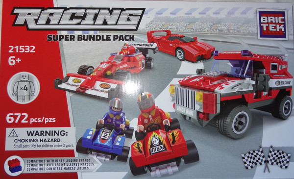 Racing Super Bundle Pack BricTek