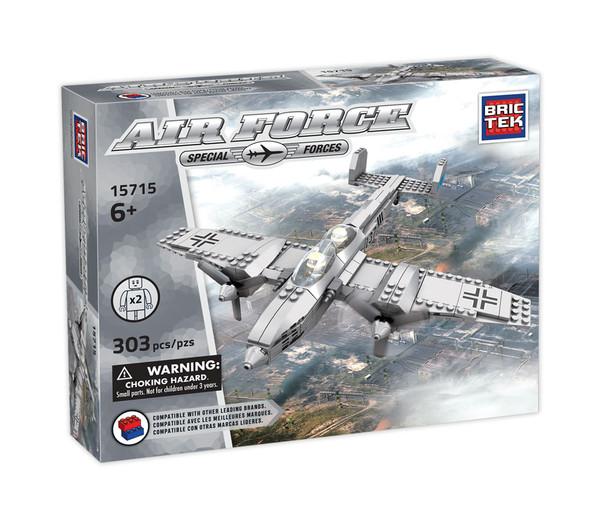 Military Battle Plane BricTek